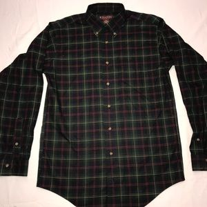 Brooks Brothers Mens Large Multicolor Button Up